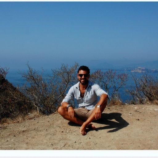 Io e il panorama dal Faro di Capo Miseno