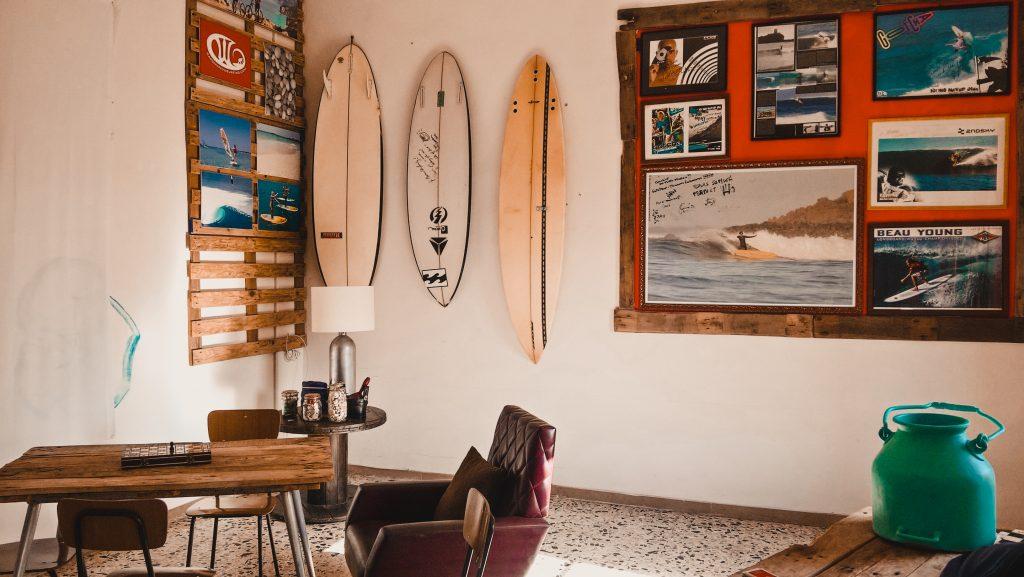 Fare surf e lavorare